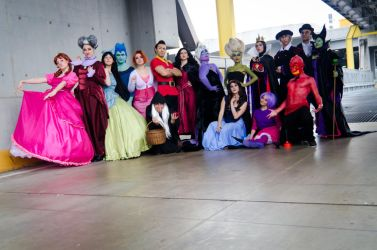 Disney Villains by LadyGiselle