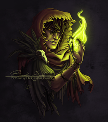 [P] The Necromancer by Soniartsy