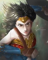 [FA] Diana : Wonder Woman by oranuncha