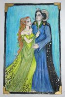 Titania and Oberon by Sidhe-Etain