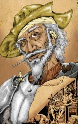 Don Quixote Comic Cover_Colors by iso36