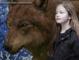 Renesmee and Jacob by Nikmarvel