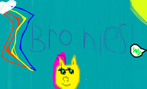 Bronies Poster 2 by FluttershyAdorable