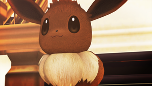 Eevee (Pokken Tournament) by GuilTronPrime