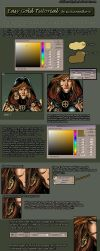Easy Gold Tutorial comic style by SicilianValkyrie