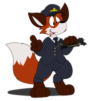 Fox Conductor by Joltink