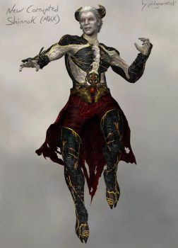 New Corrupted Shinnok [xps download] by judgmentfist