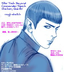 Star Trek Beyond Spock by noji1203