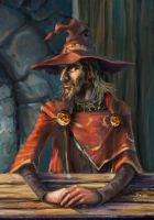 Rincewind by marbolotte