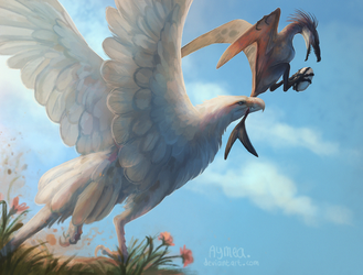 Egg thief! by Aymea