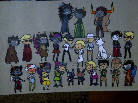 THANK YOU FEASTINGS:So much Homestuck I don't even by LingeringSentiments