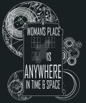 A Woman's Place is Anywhere in Time and Space by Mime666