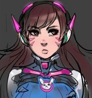 Hana Song (D.VA) - Overwatch by ManiacPaint