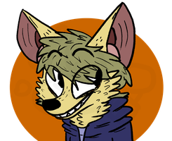 Conor the Fennec Fox by DamilitionMOE