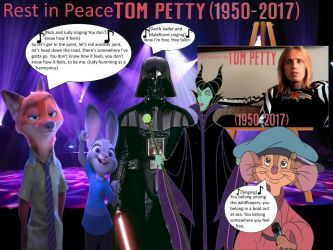 Dedication to my favorite singer, Tom Petty by 15willywonka