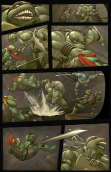 TMNT Seq page by danimation2001