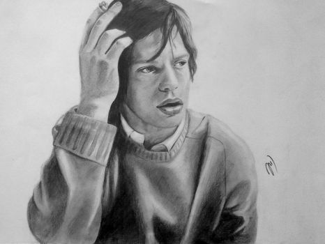 Mick Jagger by SusanDee