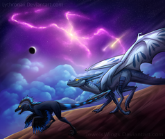 Into the Universe by Lythronax