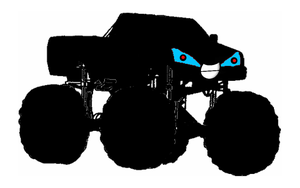 Martha The Monster Truck by k92562