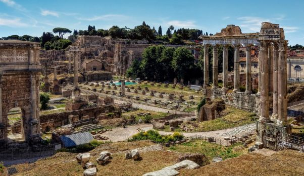 Rome Roman Forum I by pingallery