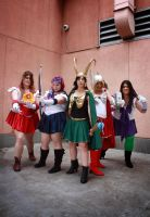 Sailor Avengers Cosplay 2 by StitchyGirl
