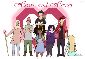 Hearts and Heroes by Rynneer