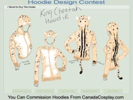King Cheetah Hoodie by mischievousblade