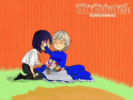 Commission: Howl's Moving Castle by KohiChapeau