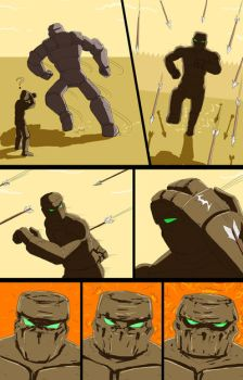 Mike into Golem TF Comic page 21 by whiteguardian
