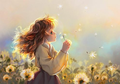 Dandelion Child by keiiii
