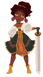 gaia cheeb for barefoot friar by tsuruaka