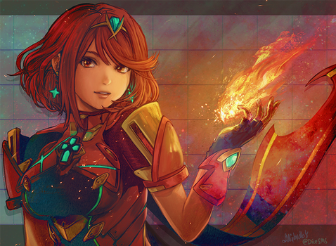 Pyra - Xenoblade 2 by Dice9633