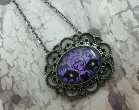 - - - Little Bat Necklace - - - by keh-arts