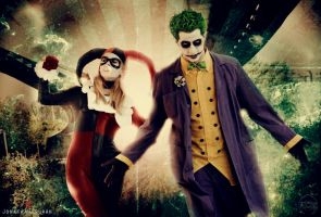 Joker and Harley Quinn by FioreSofen