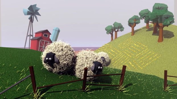 Year of the Sheep by bleeding-mark