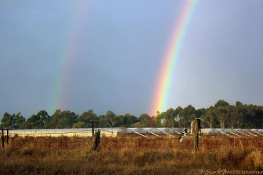 Double Rainbow by N-ScapePhotography