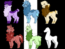 [OPEN] Youvaa Adoptables [2/6] SALE 15 POINTS EACH by Shiirun