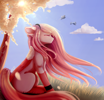 Peacefulness - At by MagicalBrownie