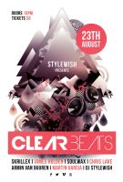 Clear Beats Flyer by styleWish