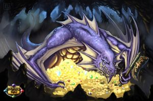 Relicbane dragon by ArtDeepMind