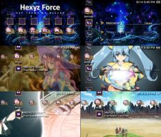 Hexyz Force PSP Theme by takebo