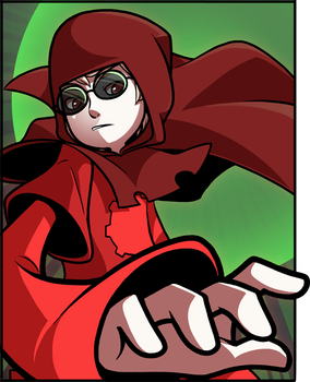 Red Dave, Green Sun by CubeWatermelon