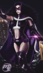 Huntress from Batman and Robin by MLauviah