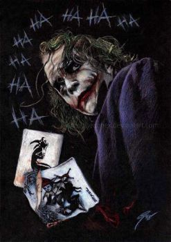 The Joker - Agent of Chaos by GabeFarber