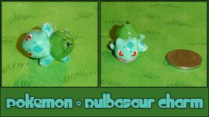 Pokemon - Bulbasaur Charm by YellerCrakka
