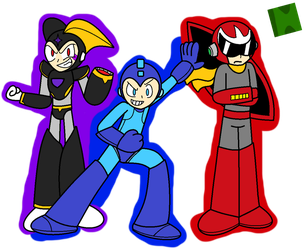 The MegaBros! by FlameRose97
