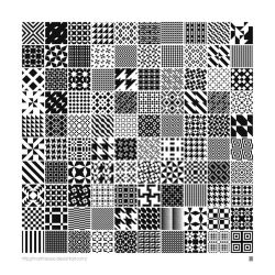 Monochrome Geometric Patterns by MartinIsaac