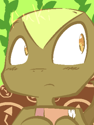 Happy Tree Friends - Anki the Historical Lizard by 42Andre24