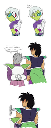 Chelye and Broly by evideech