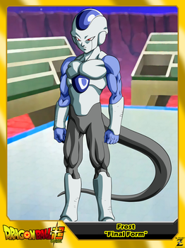 (Dragon Ball Super) Frost 'Final Form' by el-maky-z